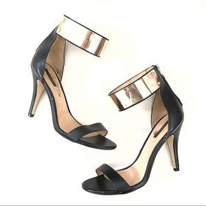 Forever 21 ankle strap heels size 10